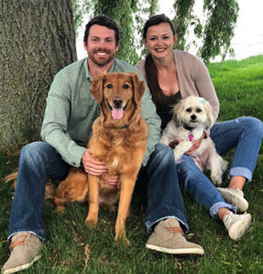 Trevor and Erica Folker, Physical Therapy in Green Bay